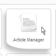 Joomla Article Manager Arizona