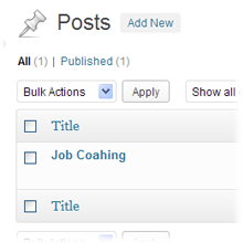 WordPress Blog Post Arizona
