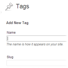 WordPress Tags Customization Arizona