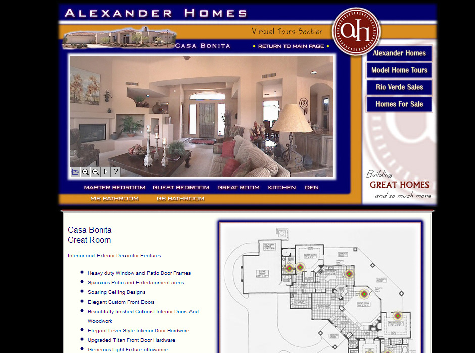 Web Designer for Home Builders