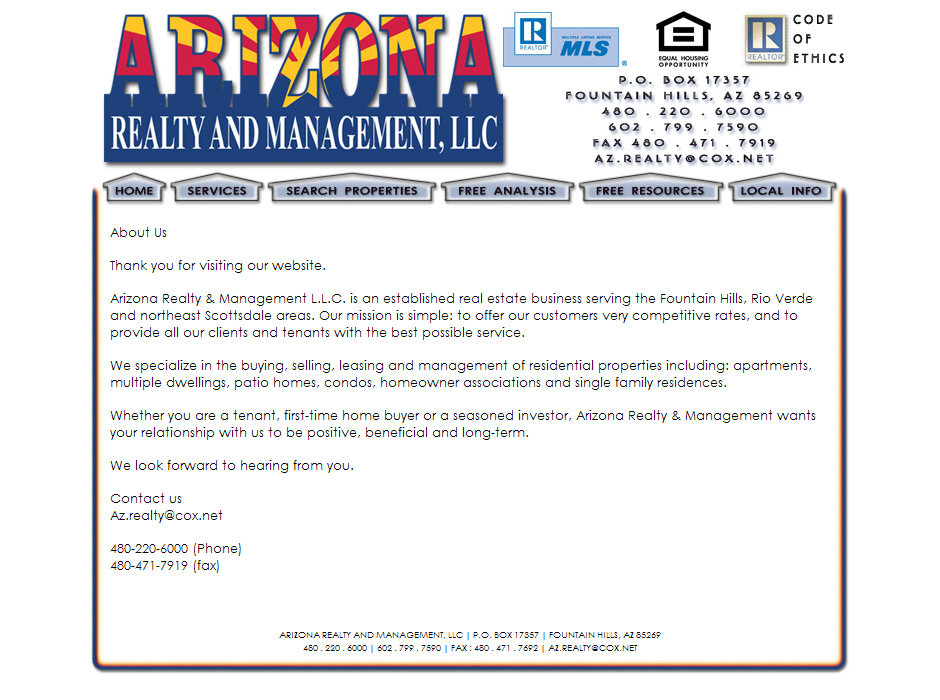 Web Designer for Real Estate