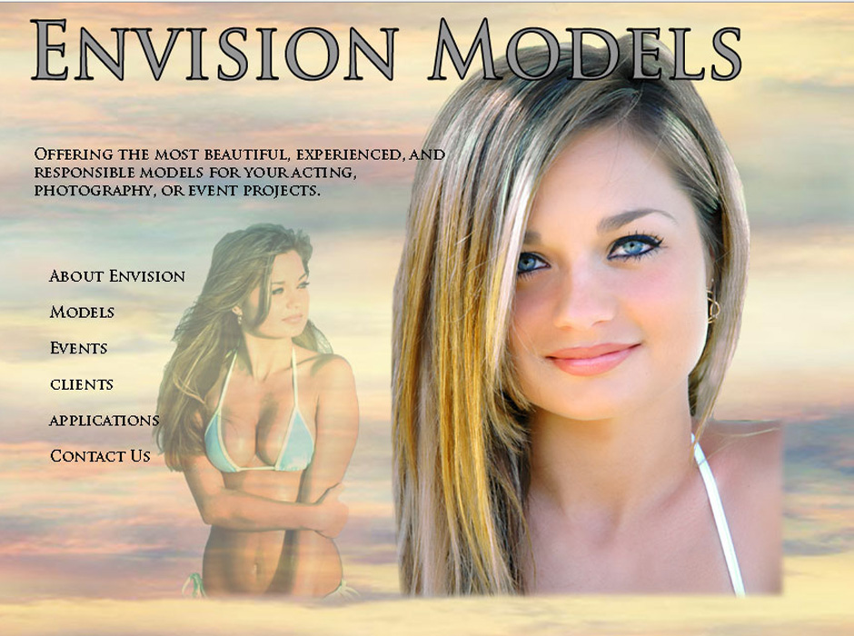 Web Designer for Models