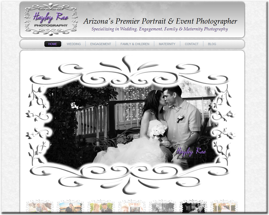 Web Designer for Photographers